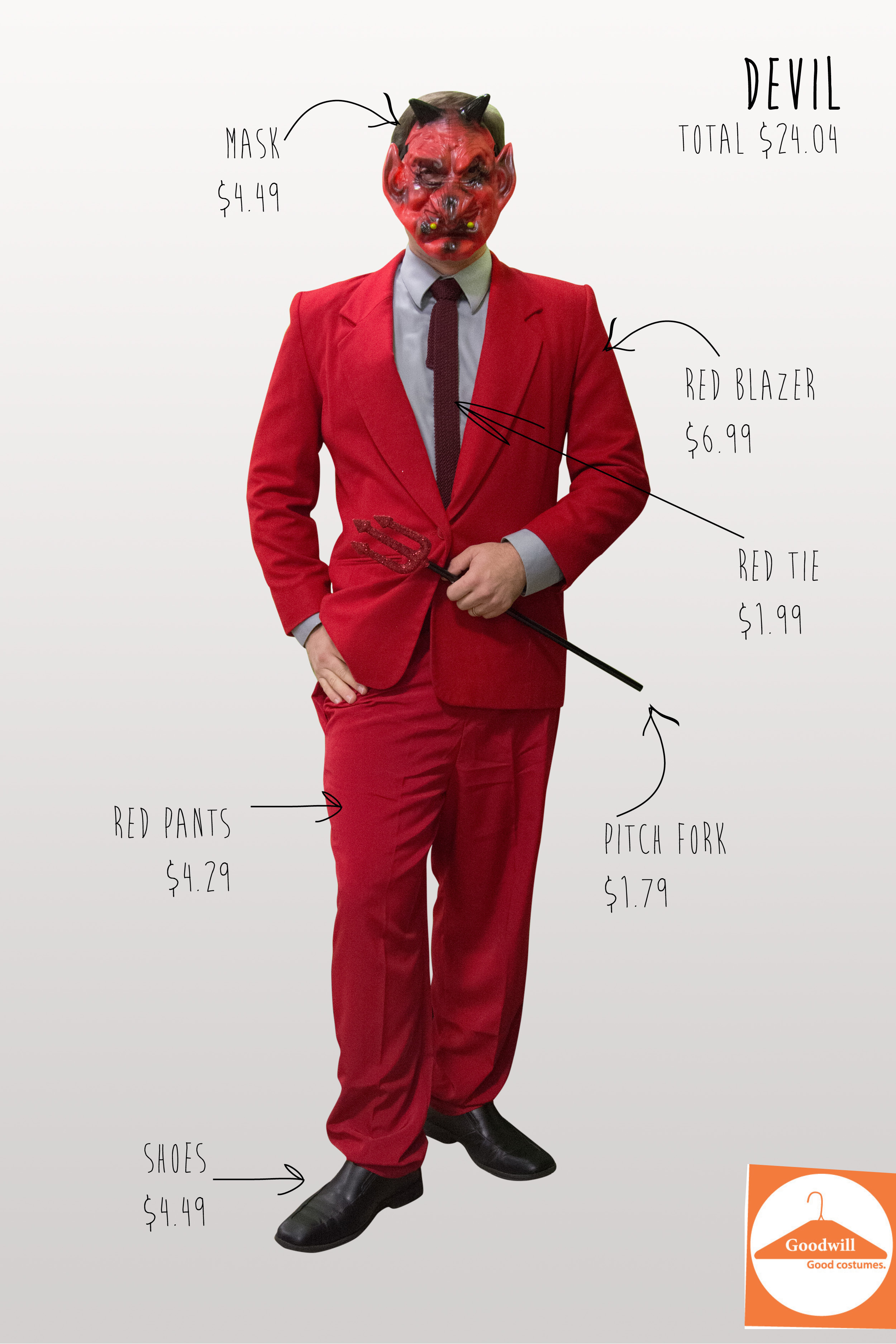 Devil Halloween Costume Diy Diy Devil Costume From